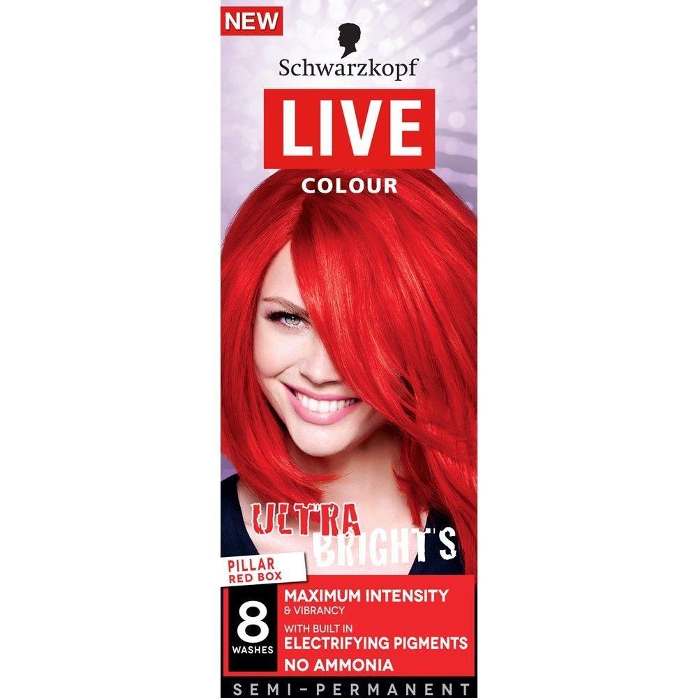 Schwarzkopf Live Color Xxl Ultra Brights 92 Pillar Box Red Semi
