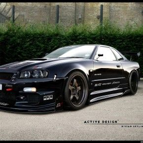 Nissan Skyline Gtr R34  I Would Die For This Car... And A