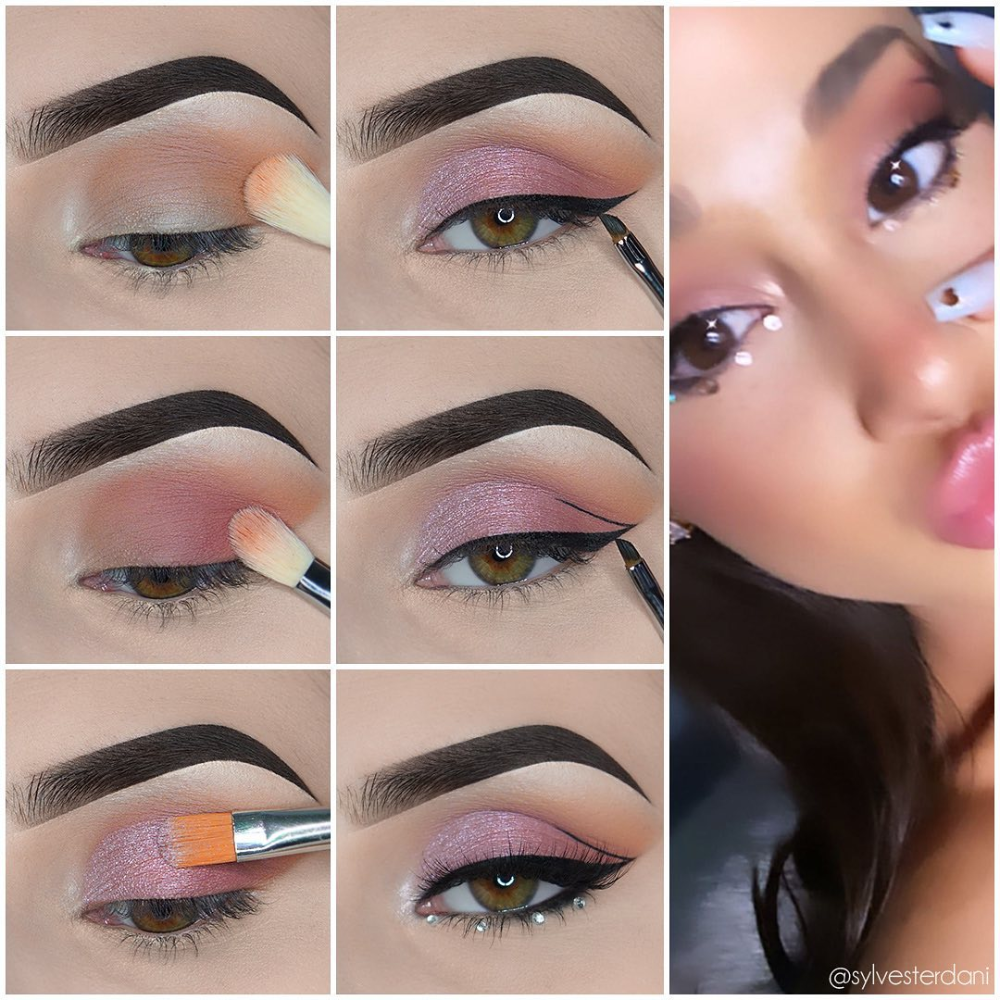Chic Eye Makeup Step by Step Tutorials from Fashion Celebrities  Page 2 of 2