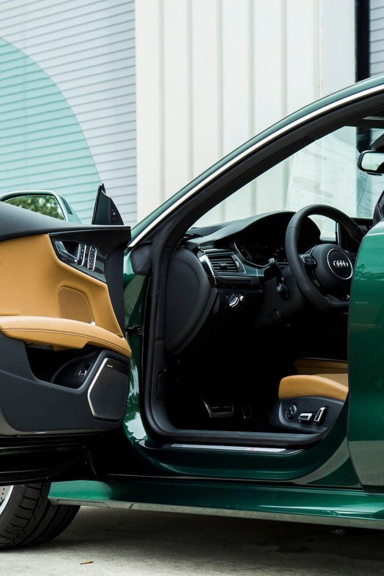 RS7 Verdant Green Interior Audi dealership, Used