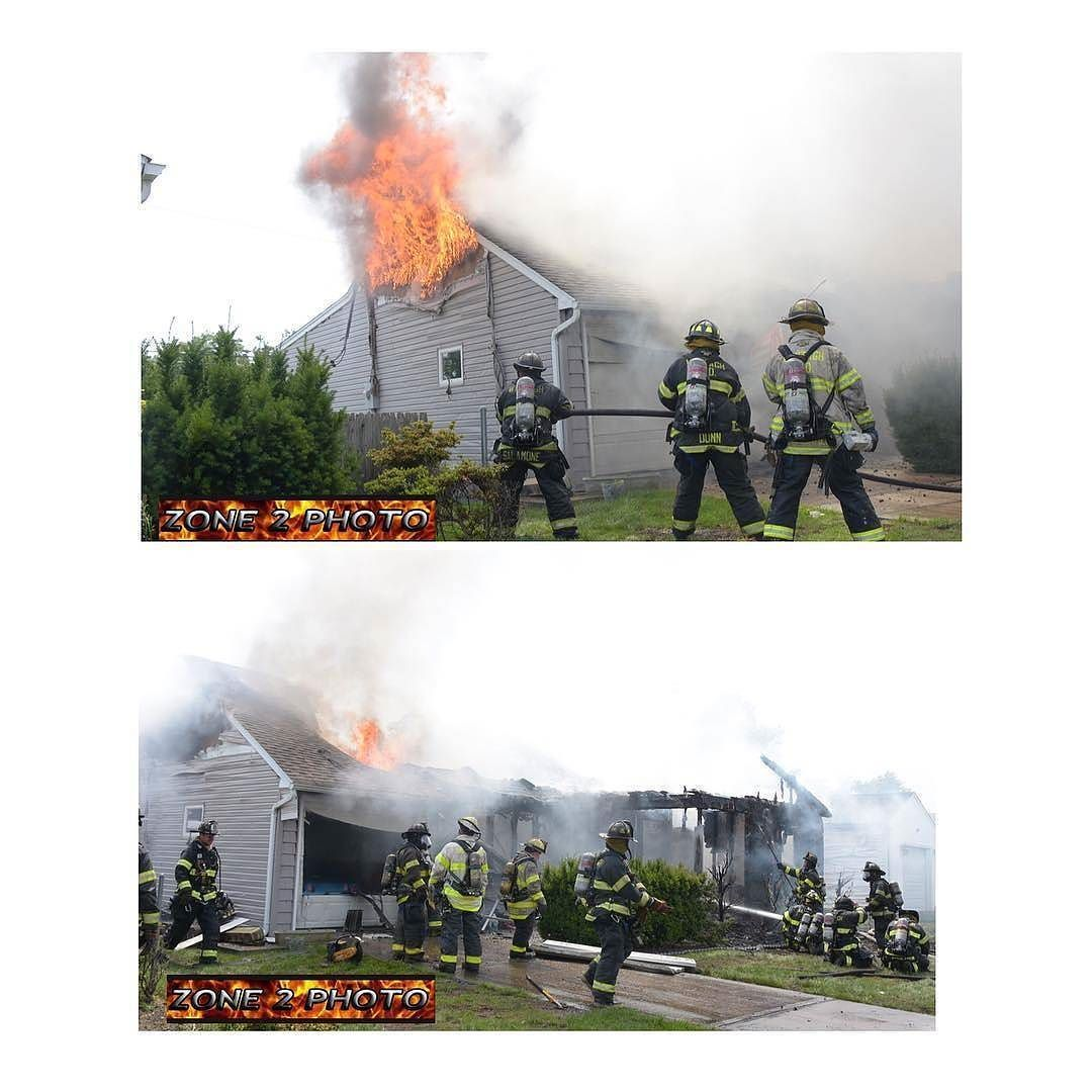 FEATURED POST   @zone2photo -  The Wantagh Fire Department responded to a fully involved one story home on Jerusalem Avenue about 2:00 p.m. Thursday June 29 2017. The fire caused most of the home to collapse despite the efforts of firefighters using multiple hand lines and one master stream. Mutual aid was provided to the scene by the Seaford Massapequa North Massapequa Bellmore  North Bellmore Levittown and East Meadow fire Departments. The houses on the 2 and 4 sides suffered heat damage…