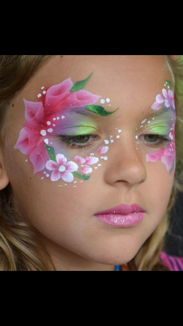stunning eye design face painting pinterest grimage maquillage enfant maquillage. Black Bedroom Furniture Sets. Home Design Ideas