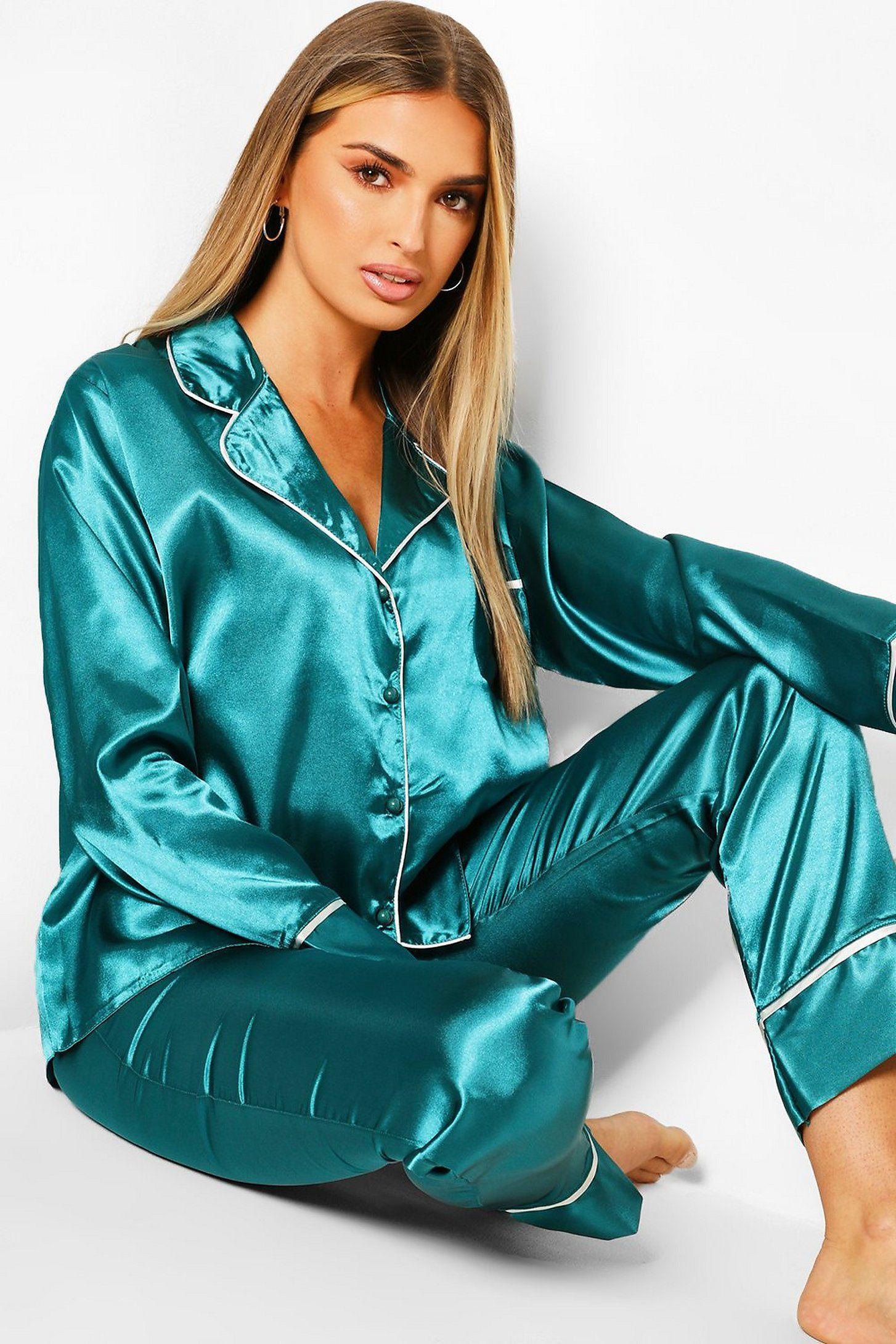 pants pajama silk pajamas pajama set women green 4 6 size bridesmaid pajama satin pajama