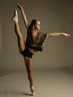 Beautiful.  If it wasn't so hard on your feet.... I would totally go do ballet.  I think I'm going to start dancing.