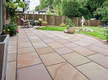 Image result for patio paving ideas uk | Backyard | Pinterest ...