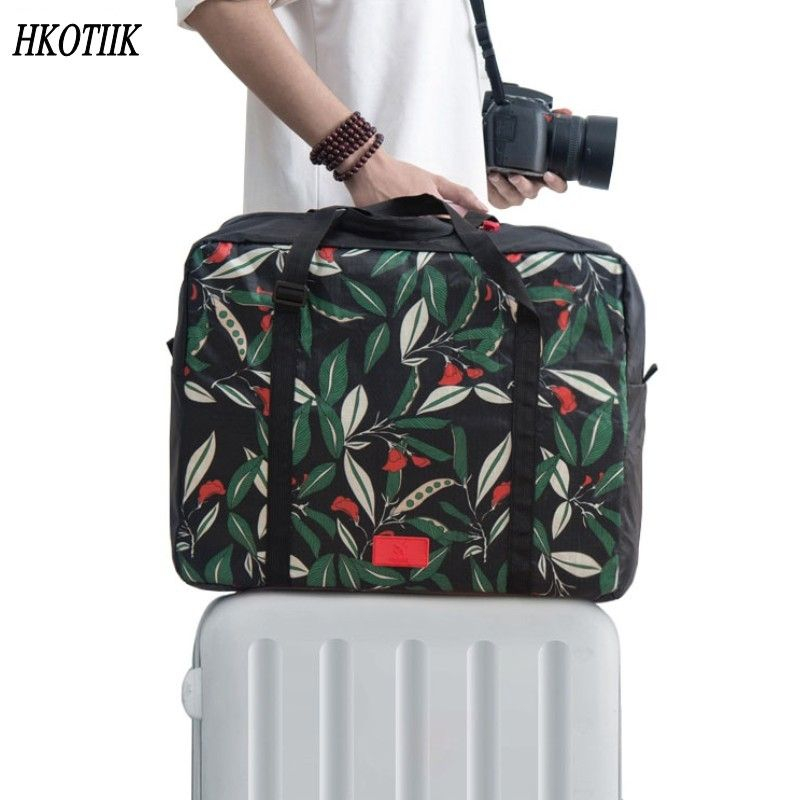 Fashionable Foldable Ladies Men s Luggage Bag Travel Bag Large Capacity  Travel Bag Women Bag Hand Baggage 60435ac9c2a71