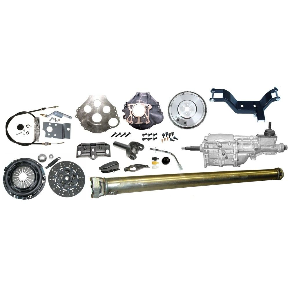 T5 Transmission Conversion Kit Deluxe 289/302/351 1965-1966
