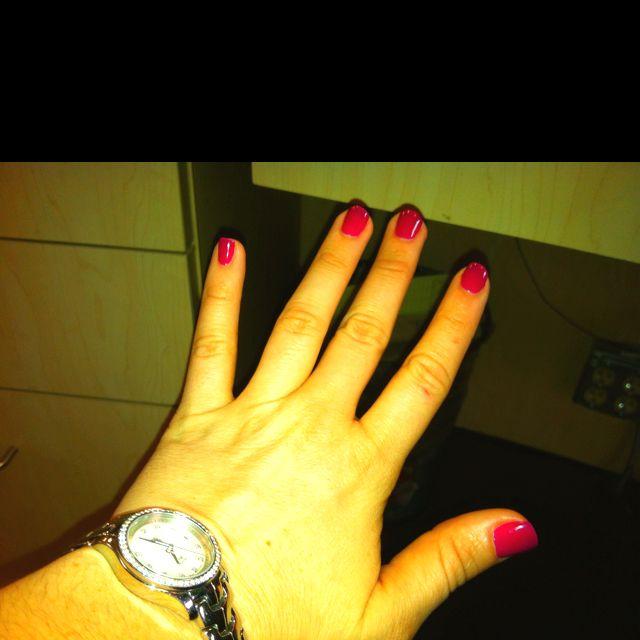 Beautiful nails by downtown nail tech Teresa Zwit Polish: Gelish ...