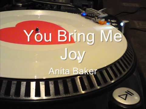 You Bring Me Joy Anita Baker Youtube The Love Of Music
