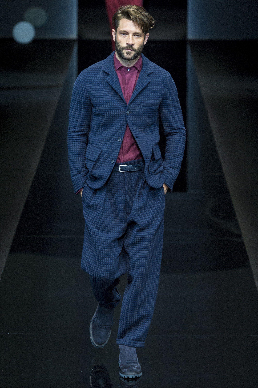Giorgio Armani Spring 2017 Menswear Fashion Show | Men's ...