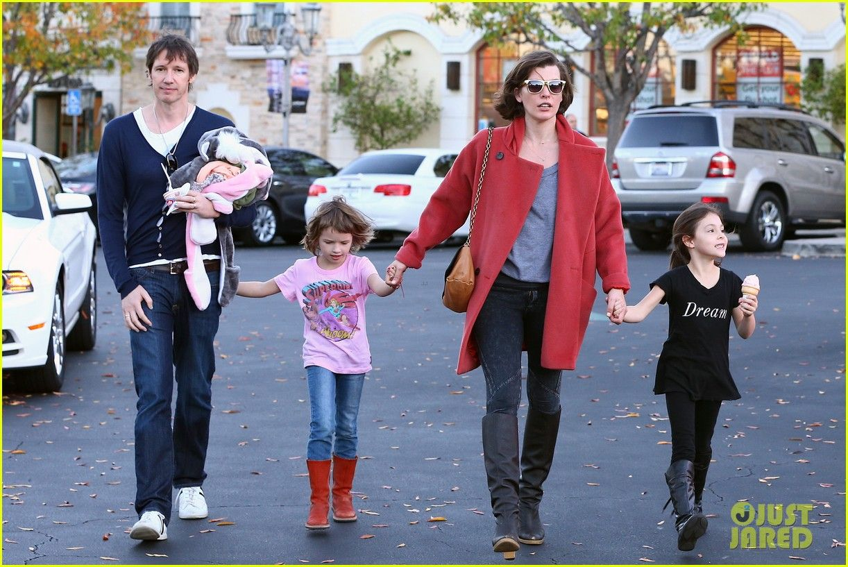 MJ. and family