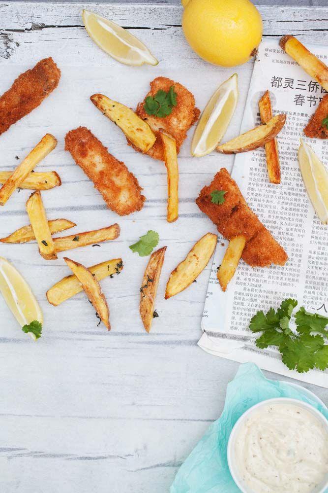 Kokos-Fish und Chips