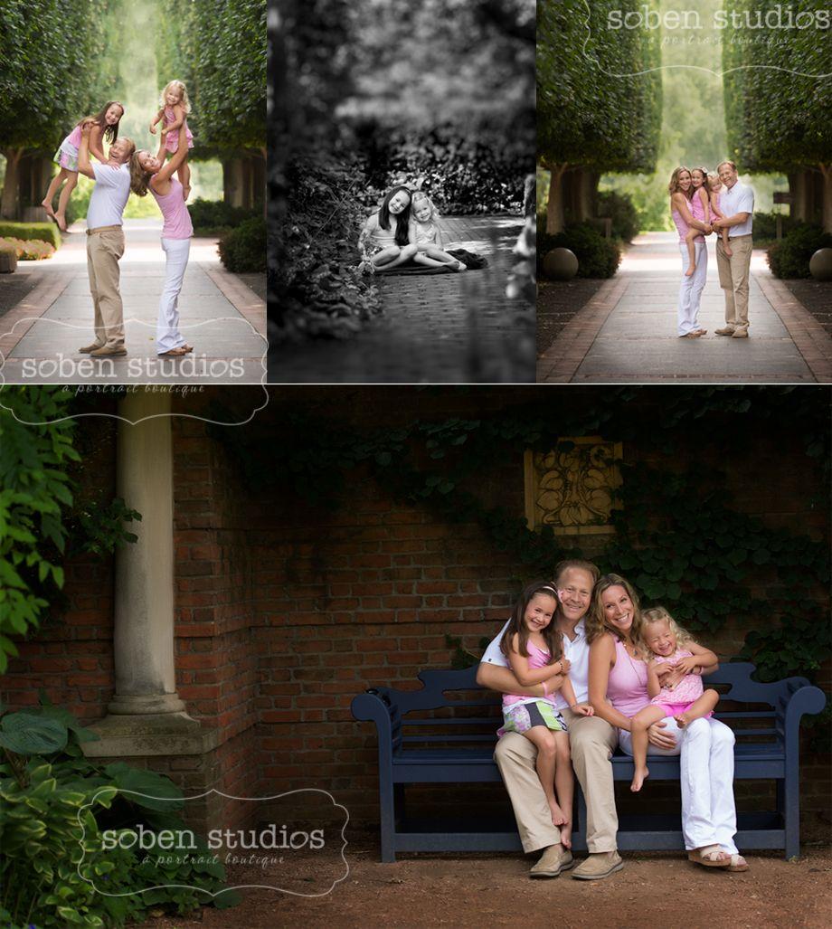 Chicago family photographer fabulously fun session at the botanic gardens. www.sobenstudios.com
