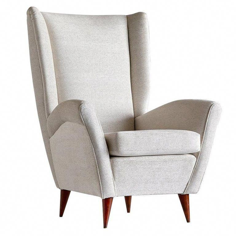 Gio Ponti High Back Armchair Late 1940s For Sale At 1stdibs