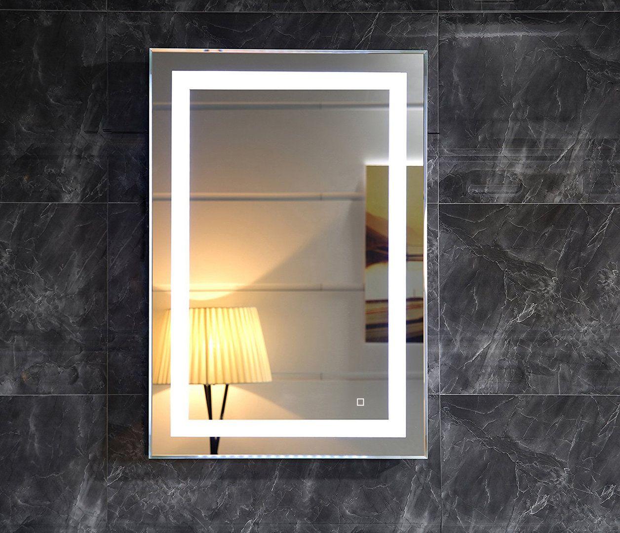 Led Lichtspiegel Roma Mit Touch Schalter Mit Bildern Spiegel