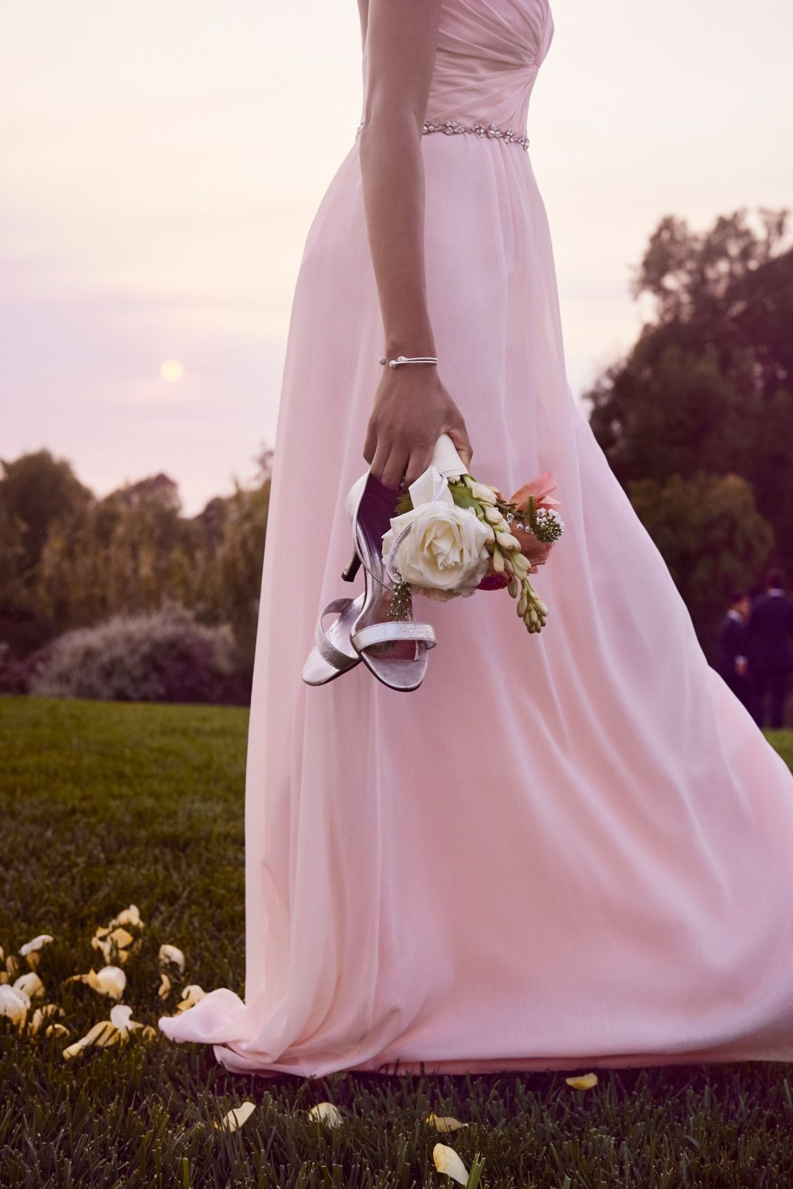 post-wedding moments | Shop petal pink bridesmaid dresses from ...