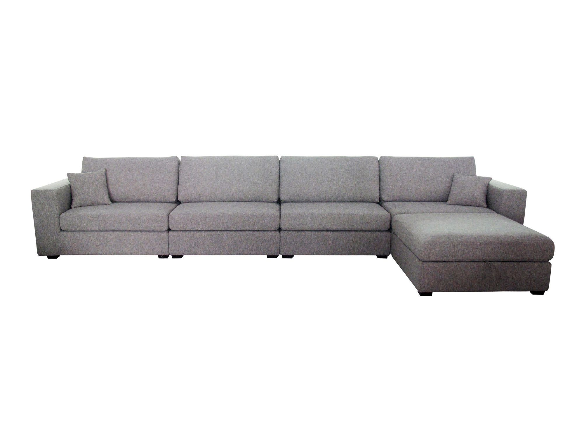Sydney sectional slate l newell furniture