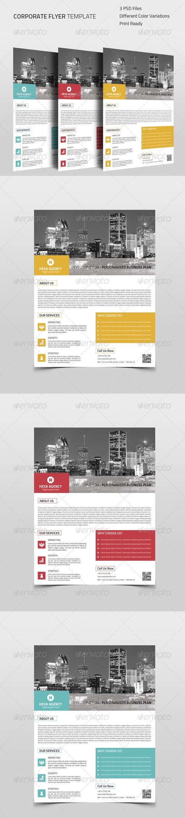 Pin by Videoinfographica on Flyers Templates (With images