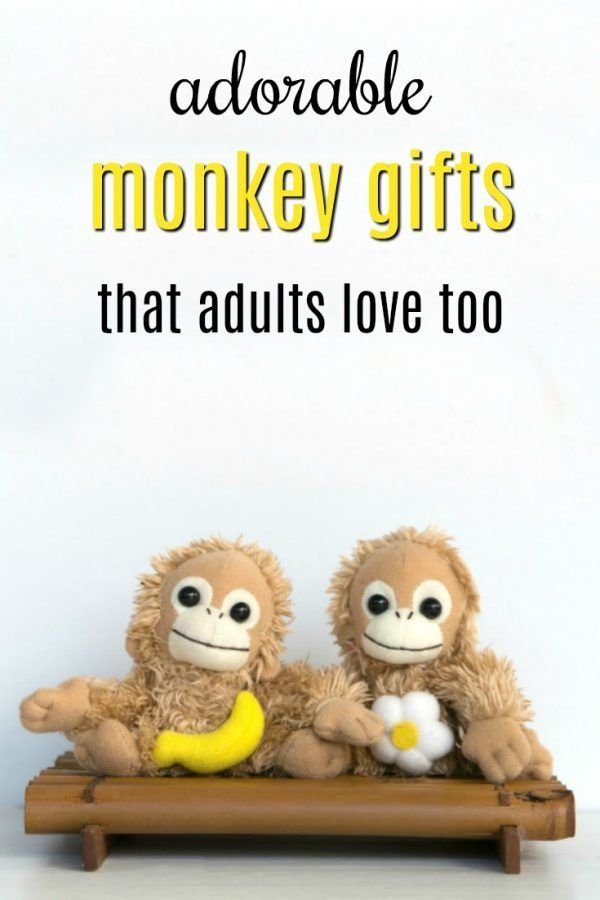 Preferred 20 Adorable Monkey Gifts that Adults Want Too | Monkey, Gift and  GQ27