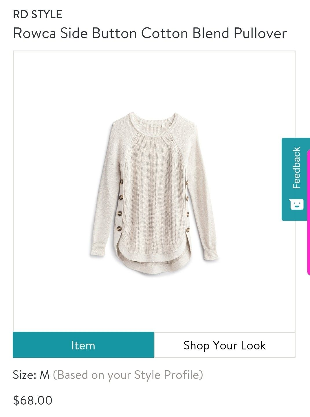 Stitch Fix Stylist Love The Button Detail And Length