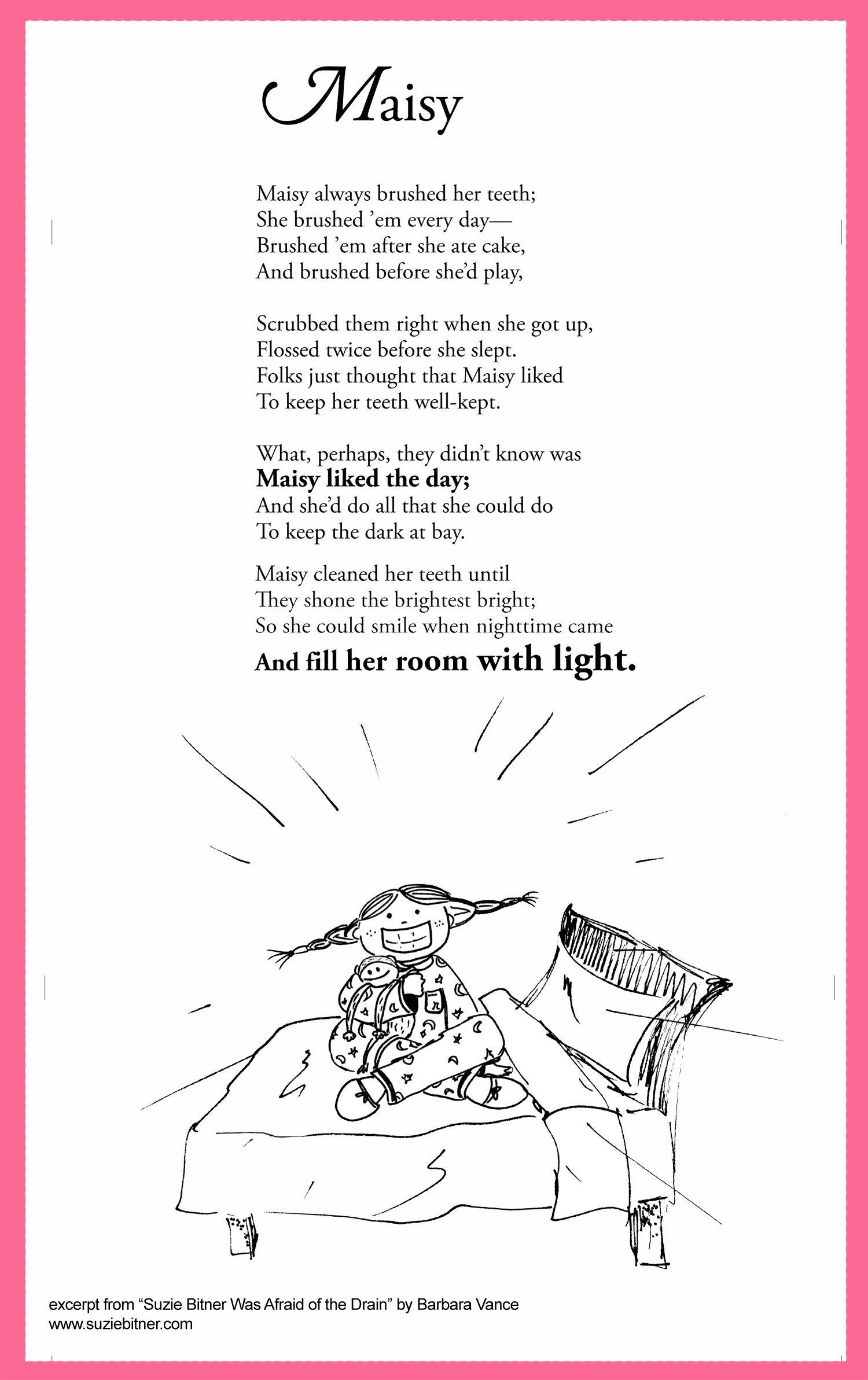 Maisy Childrens Poems