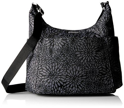 Baggallini Hobo Tote Pewter Floral    Read more reviews of the product by  visiting the link on the image.Note It is affiliate link to Amazon. c3d2c6f153eff