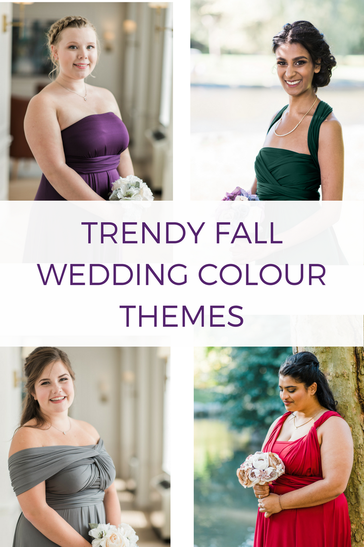 7 Wedding Trends For Your Fall Wedding | Wedding color themes ...