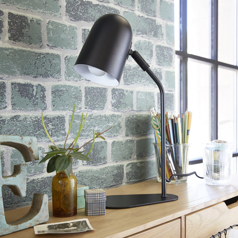 Lampe Design Metal Noir Brilliant Tong Idees Pour La Maison