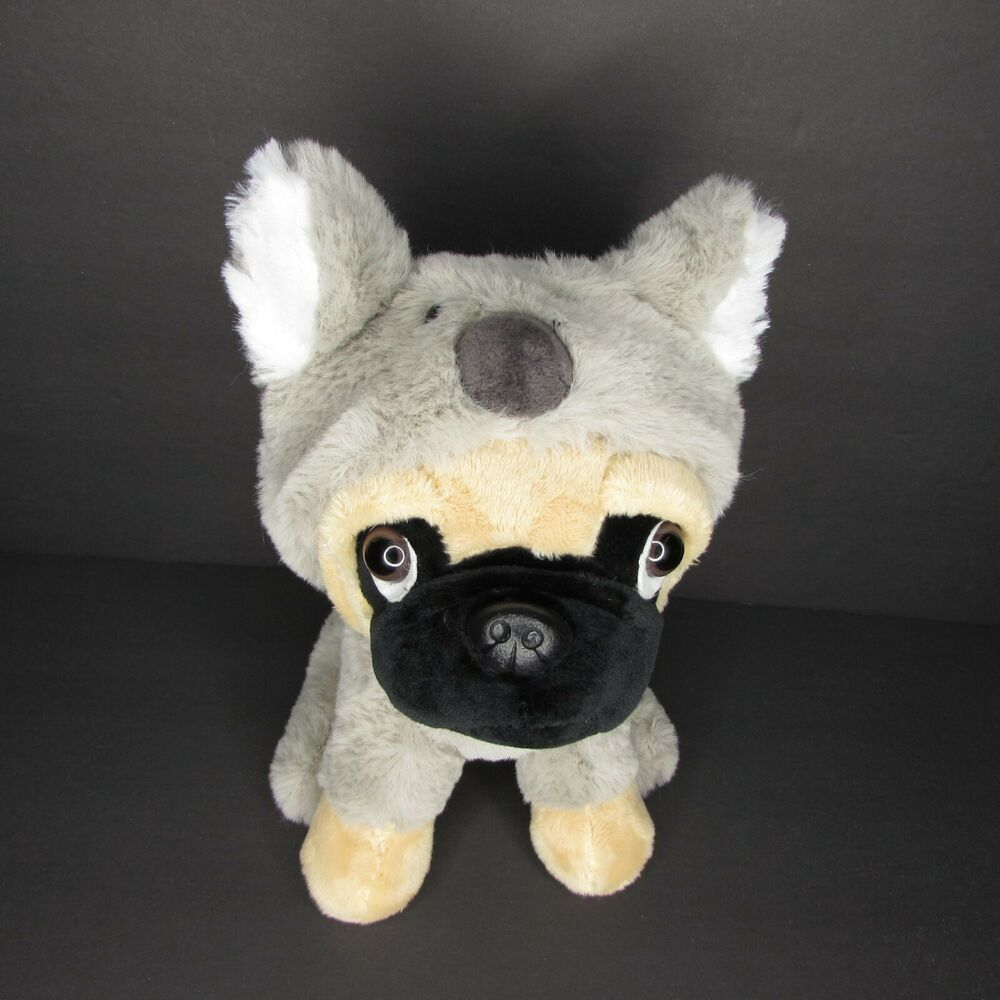 Pug Dog In Koala Bear Costume 9 Plush Halloween Unbranded