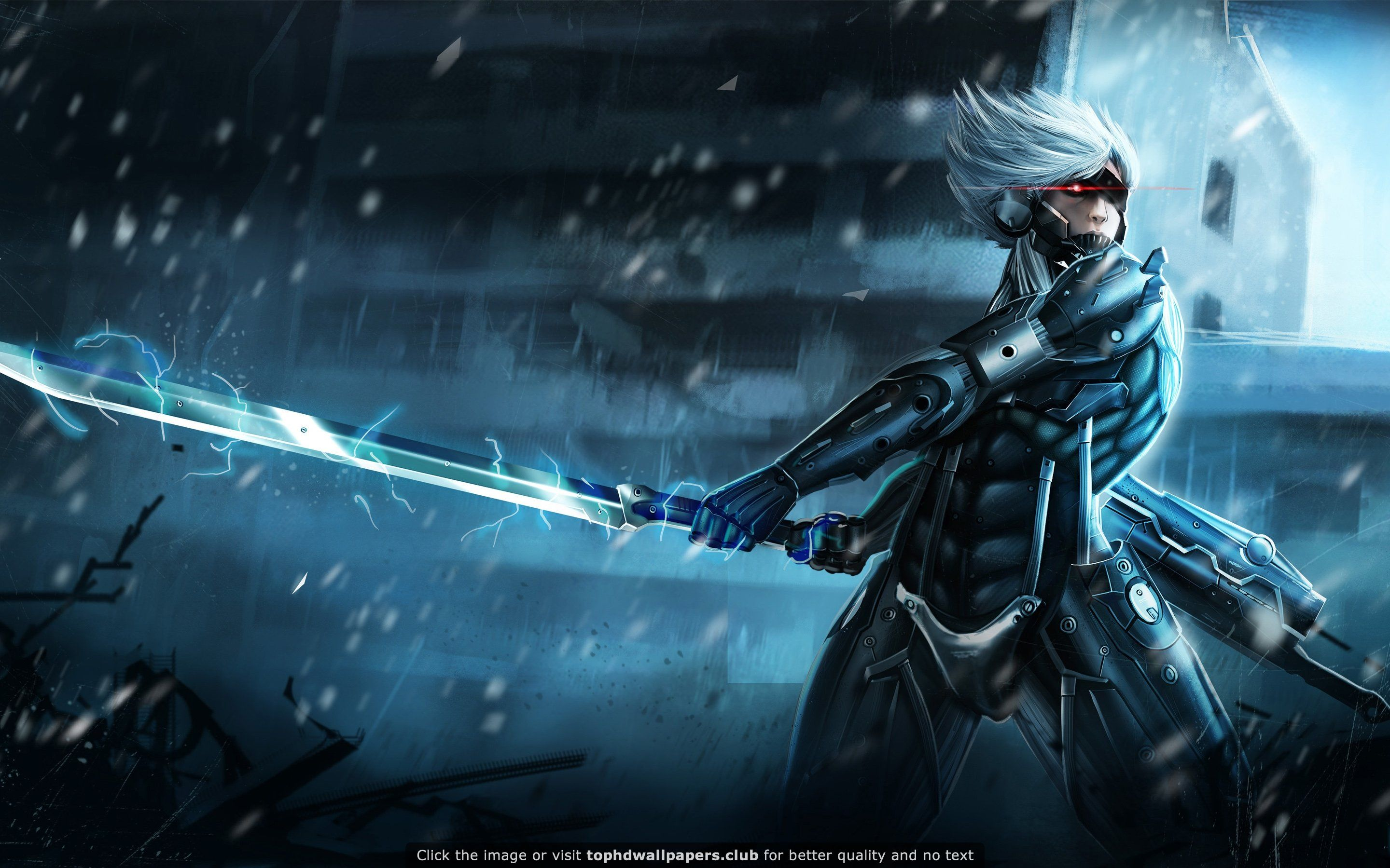 metal gear rising raiden hd wallpaper for your pc, mac or mobile