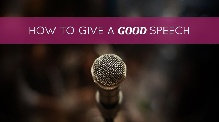 what is a good speech