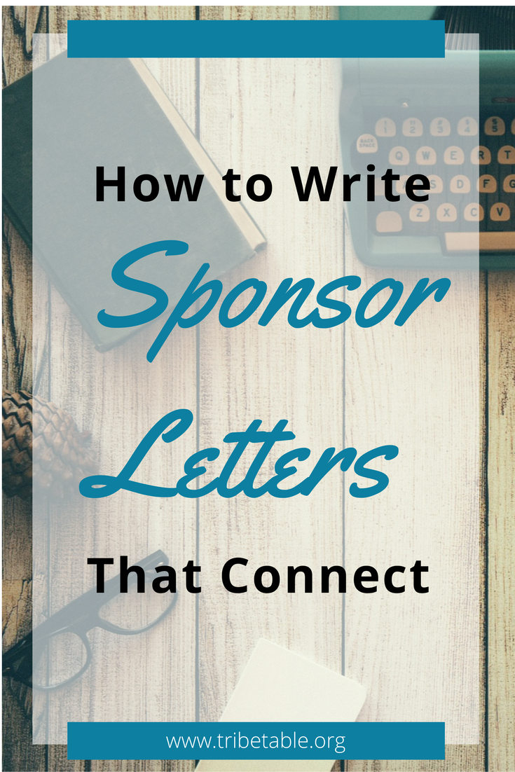 Fundraising Sponsor Letters How To Write Sponsorship Letters