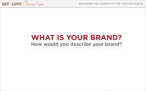 How do you want to be seen and thought of? This is your brand.  Visit  dpsfoodgroup.blogspot.com www.twitter.com/DPSFoodGroup