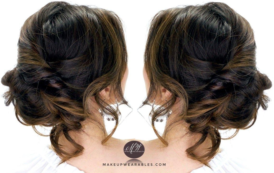 3 Easy Everyday Hairstyles Tutorials: Bun Updos