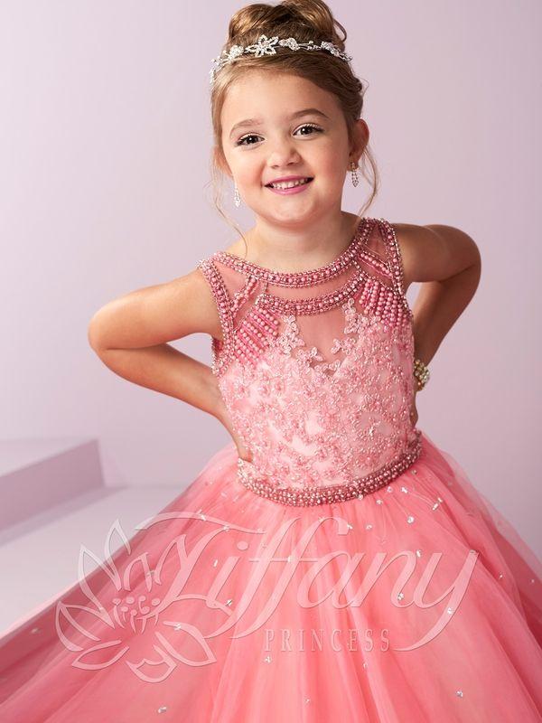 Tiffany princesa 13486 desfile de la blusa del cordón del vestido ...