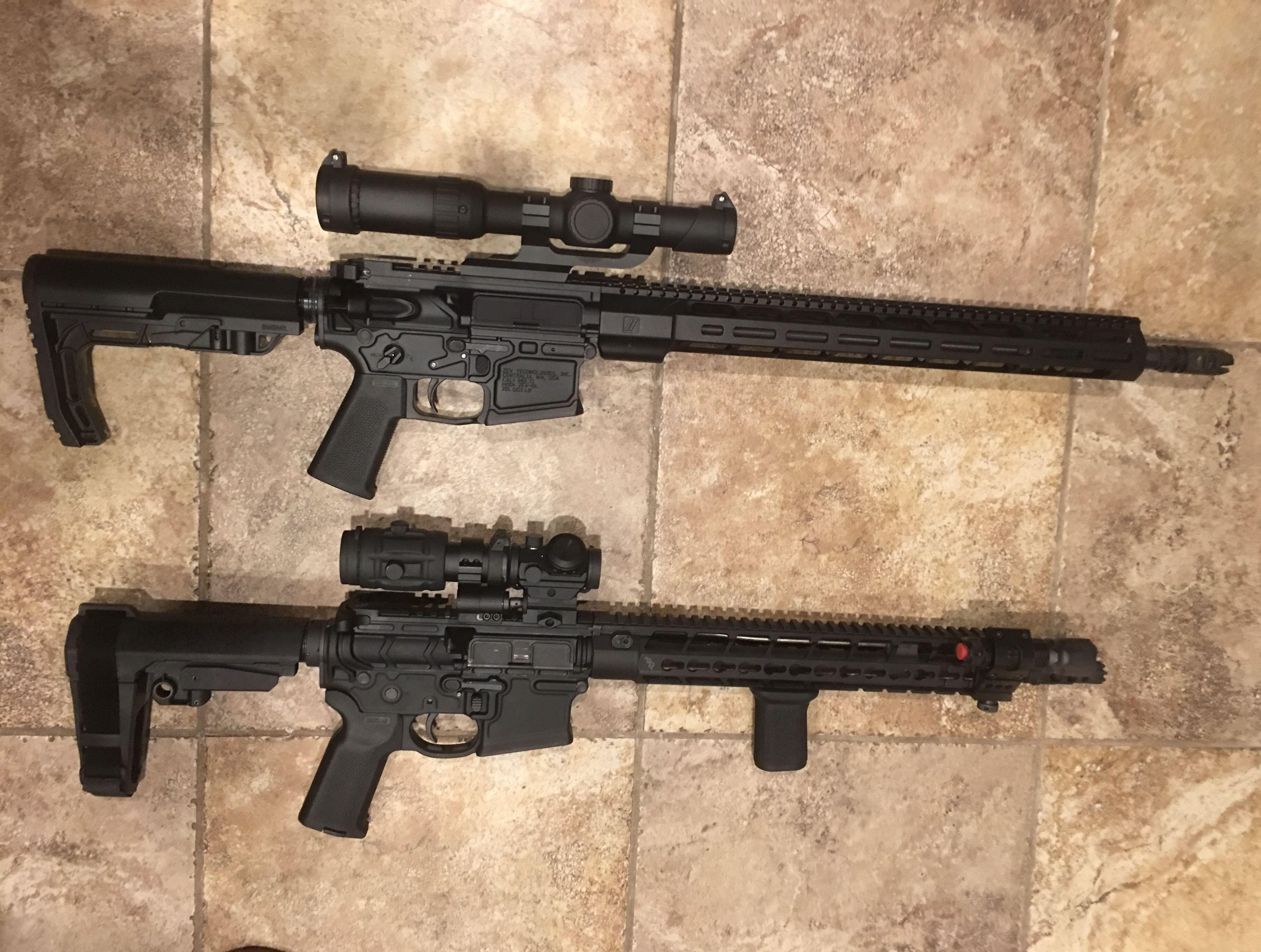 "AR-15 14 5"" build Bootleg handguard and upper, PWS lower"