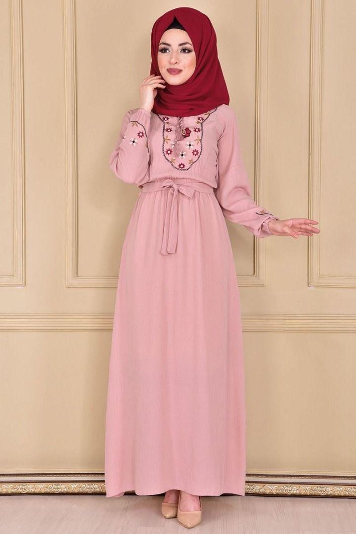 Modamerve Tesettur Elbise Modelleri 30 31 2019 Hijab Kleid Hijab Fashion Modamerve Elbise Elbise Modelleri Moda