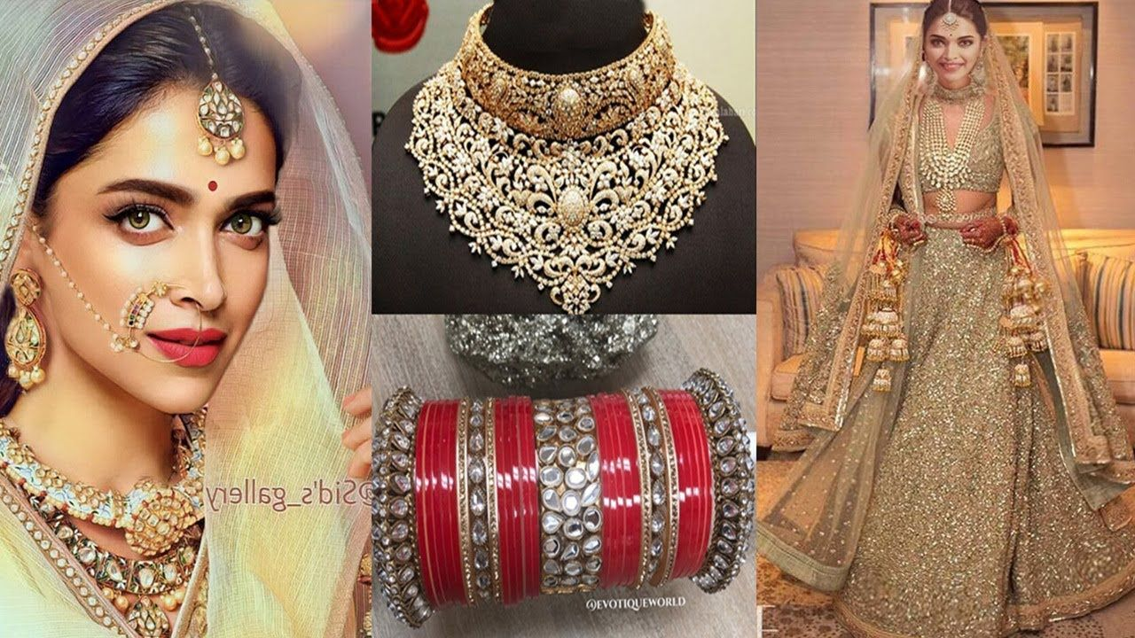 Deepika Padukone Wedding Deepika S Most Expensive Wedding Jewelry And Outfit For Her Lavish Wedding Expensive Wedding Jewelry Wedding Expenses Wedding Jewelry