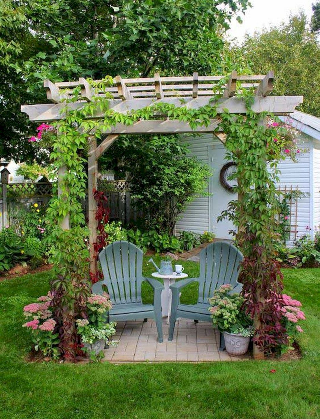 80 Super Cool Backyards Design For Your Perfect Home Garden Small