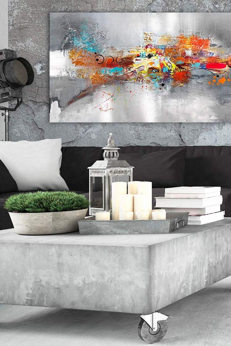 Acrylglas-Bild Wandbilder Druck 100x50 Deko Kunst Abstraktes Rad
