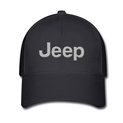 526237a74fcdf Unisex Jeep Logo One Size Fits All Baseball Caps