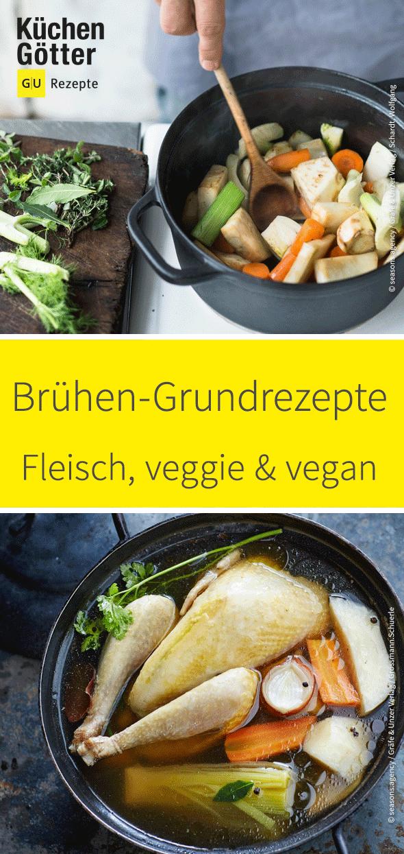 Brühe selber machen – Die 33 besten Rezepte #veganhumor