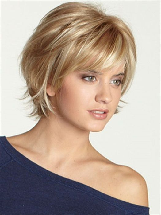 Short Layered Hairstyles With Bangs In 2019 Short Hair