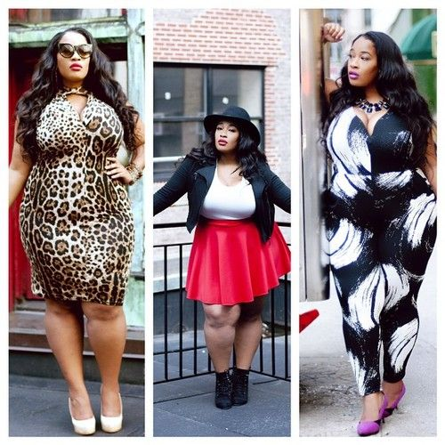 7d74e9d89c42 The middle outtie is most like my style.  skaterskirt  heel  chunkyboot Big  Beautiful Black Girls