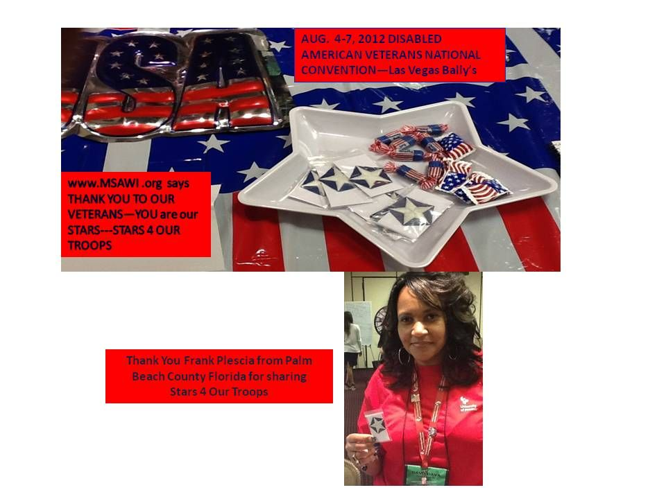 The stars for our troops program takes old american flags