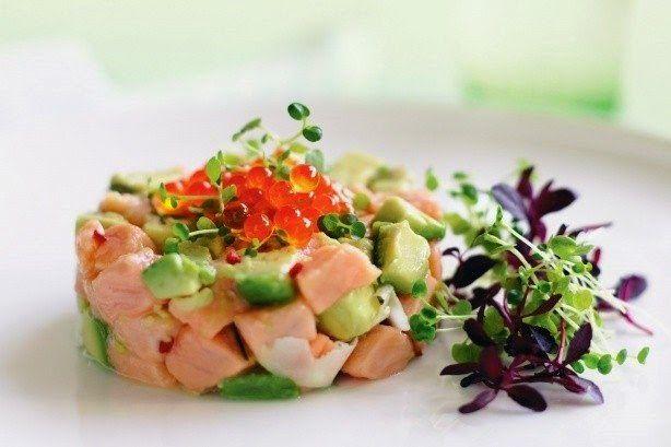 Ceviche Of Salmon And Avocado Recipe ~ Food Network Recipes