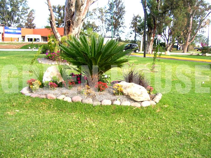 Green house dise o de jardines flor de pe a for Jardines residenciales