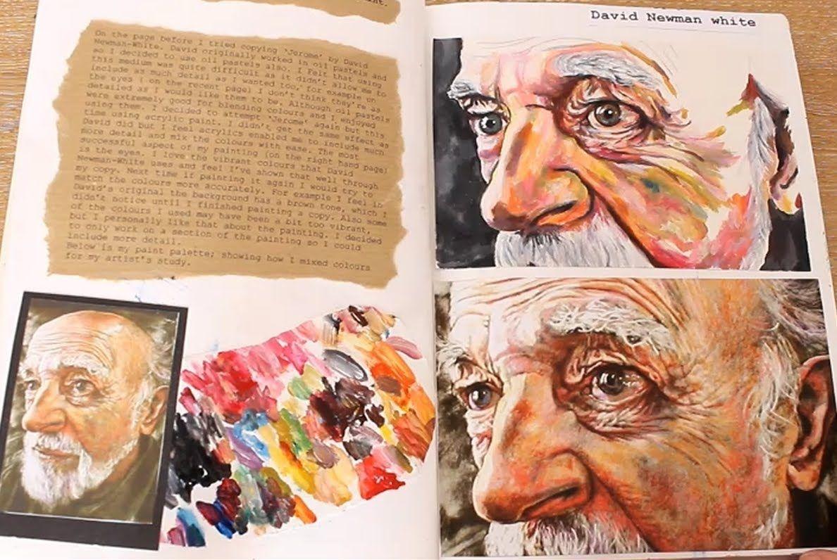 Gcse Art Sketchbooks Gcse Art Sketchbook Sketchbook Layout A Level Art Sketchbook