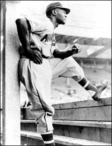 Buck O'Neil was the first African American coach in Major League Baseball. Before that he played first base and coached for the Kansas City Monarchs of the Negro Leagues. He was an incredible man and the best ambassador baseball ever had.