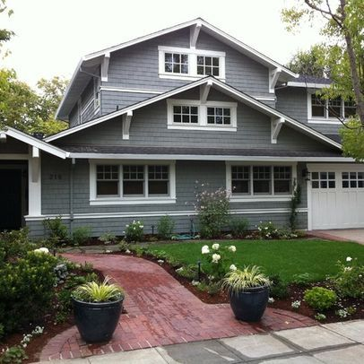 Exterior Photos Craftsman Corbels Design Ideas Pictures Remodel And Decor Craftsman Style House Plans Craftsman Style Homes Craftsman House
